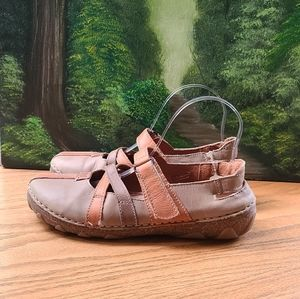 Josef seibel Mary Jane shoes straps velcro